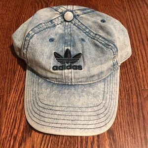 Adidas Women's Denim Wash Strap-back Hat